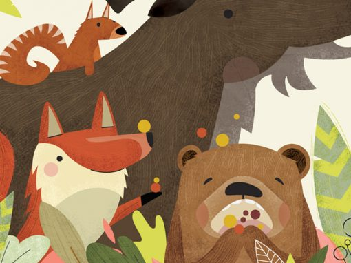 Brownie the Bear – Children's Book Illustrations
