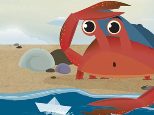 Cuppy the Crab – Children's Book