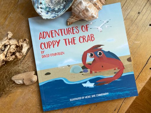 'Adventures of Cuppy the Crab' – Children's Book
